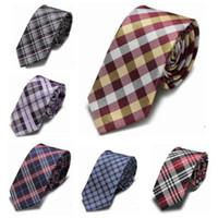 شبكة ربطة العنق 10 ألوان الشريط الرقبة التعادل 145 * 6 سنتيمتر الجاكار للرجال حفل زفاف حزب الأب هدية عيد الميلاد مجانية TNT فيديكس