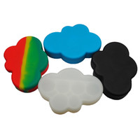 85 ML cloud design Large Silicone Container Jar Honey Dab Bo...