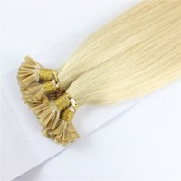 #613 100% Brazilian Remy Fusion Hair Extensions Capsules Nai...