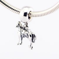 Loose beads 925 Sterling Silver Sorcerer Dangle Charm Bead M...