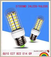 YON New Dimmbare E12 E14 E26 E27 B22 G9 GU10 LED-Mais-Glühlampe 7W 12W 15W 18W 21W 30W SMD5730 LED-Mais-Lampe