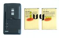 2 pezzi BL-49SF BL49SF BL 49SF 3500mAh batteria di ricambio in oro + caricatore universale per LG G4 Mini G4C G4S H735T H525N G4Mini G4beat G4 Beat
