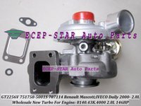GT2256V 707114-0001 751758-0001 751758 707114 Turbo Turbocompressore per Renault Mascott IVECO Daily 2000- 8140.43K.4000 2.8L 146HP