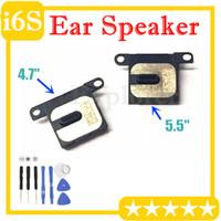 """10pcs per Iphone 6S Inoltre 5.5"""" pollici Ear Speaker pezzo dell'orecchio parte di ricambio interna Auricolare auricolare chiamata altoparlante Modulo ricevitore cavo della flessione"""