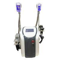 전문 Cryolipolysis 지방 냉동 슬리밍 기계 2 Cryo 핸들 시원한 몸 조각 Cryolipolysis 초음파 Cavitation RF Lipolaser