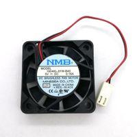 Original NMB 1604KL-01W-B40 40 * 40 * 10MM 5V 0.16A 4cm 2 líneas ventilador de refrigeración del disco duro del ordenador