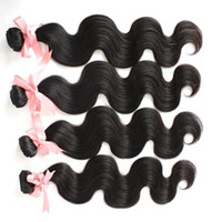 100% Peruvian Hair Extensions Unprocessed Human Virgin Hair Wavy Body Wave Hair Weft Double Weft Greatremy Natural Color Dyeable 4pcs/lot