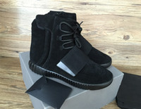 750 boots Light Grey Glow In The Dark Kanye West Leather Boo...