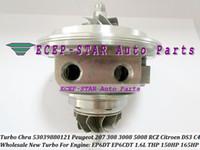 K03 53039880121 Turbocompresseur Turbo CHRA Cartouche Pour Peugeot 207 308 3008 5008 RCZ Citroën C4 DS 3 EP6CDT 1.6L THP 1.6L 156HP