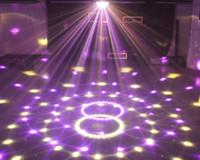 6 canales DMX512 Control Digital LED RGB Crystal Magic Ball Efecto de luz DMX Disco DJ Iluminación de escenario Envío gratis al por mayor