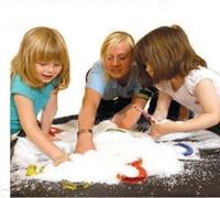 Горячие продажи Magic Prop DIY Мгновенный Искусственный Снег Порошок Моделирование Поддельный Снег для Партии Рождественские Украшения