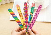 2016 hohe Qualität Nagelfeilen Puffer Schleifen Waschbar Maniküre Werkzeug Nail art Polnischen Schleifpapier Streifen Bar Set Polierfeile Werkzeug Schwamm