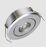 3w led down light led spot encastré plafonnier led plafond plafonnier 3w spot downlight pour la lumière du Cabinet pour la lumière de vitrine