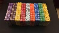 D6 12мм закругленный угол Dice Мульти Цветные декоративные Кубики Аксессуары Fun игры Мини Dice Пейте Игры Куб Бозон игрушки Хорошая цена # R11