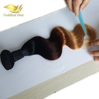 Ombre Hair Extensions 1b 4 27 Blonde Ombre Virgin Human Hair...