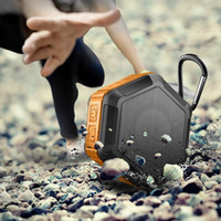 Hexagon Waterproof IPX7 Bluetooth Speaker Outdoor Sport TF c...