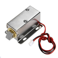 Serrure de porte électrique 12V serrures électriques Cabinet Serrures de tiroir électrique Petit système de contrôle d'accès électrique Mini serrures