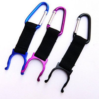 Locking Carabiner Water Bottle Buckle Hook Holder Clip Campi...