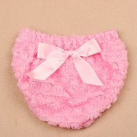 2016 NEW bebe Bow Ruffle Bloomers Girls Diaper Cover Tutu Ro...