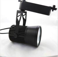 O super brilhante integra o ângulo de feixe AC85-265V dos projectores 24 do COB da luz 90-100LM / W da trilha 30W do diodo emissor de luz com o certificado do CE RoHS para lojas de roupa