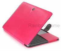 PU Leather Protective Case Cover For Macbook Air Pro with Re...