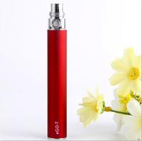 Ego-T Akku Ecig Wiederaufladbare Ego t Batterien Elektronische Zigarette 650mAh 900mAh 1100mAh Akku 510 Gewinde match ce4 mt3 GS H2 Zerstäuber