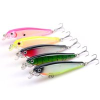 5- color 8cm 7. 5g Hard Plastic Lures Fishing Hooks Fishhooks ...