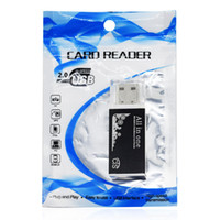 Handisk 도매 알루미늄 스마트 모든 하나 개의 USB 마이크로 SD TF MS MS DUO M2 SD SDHC의 MMC의 ER004 2.0 멀티 메모리 카드 리더에