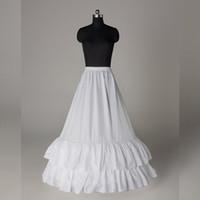 Yüksek Kalite Bir Çizgi Gelinlik Petticoat Kayma Altskirt100% Resim ile aynı Resim Tutu Etekler Petticoats Stokta Ucuz Gelin Aksesuarları