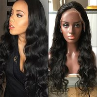 Unprocessed Brazilian Human Hair Silk Top Full Lace Wigs Bod...