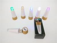 LED-Licht korkenförmig wiederaufladbare USB-Flasche Lichtflasche LED-LAMPE Korkstecker Weinflasche USB LED-Nachtlicht