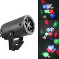 führte Wanddekorationslaserlicht LED-Musterlichter, rgb Farbe 2 Musterkartenänderungslampe Projektor-Duschen führten Laserlicht für Feiertag