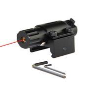 Тактический охота Супер Мини красная точка лазерный прицел для пистолета пистолет с 20 мм железнодорожных
