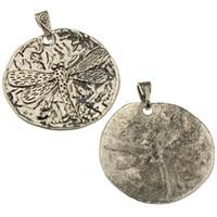 Fai da te grandi ciondoli gioielli per donna borse collane all'ingrosso charms animale libellula argento antico metallo gioielli componenti 71 * 63mm 20 pz