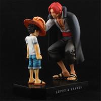 One Piece 2 ADET Klasik Rakam Maymun D Luffy VS ŞARJLAR Rakamlar PVC Anime Oyuncaklar Japon Anime Oyuncaklar