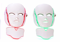 7 Color LED Facial Neck Mask With EMS Microelectronics LED P...