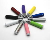 전자 담배 EGO-T 510 스레드 매치 CE4 Atomizer CE5 Clearomizer CE6 650mAh 900mAh 1100mAh 9 색상을위한 고품질 자아 배터리