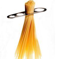 Nouvelle Acier Inoxydable Argent Spaghetti Pâtes Mesures Bâton 4 Portion Contrôle Des Nouilles De Mesure Maison Cuisine Outil
