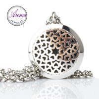 Aroma Jewelry 316L Stainless Steel Perfume Pendant With 24&q...