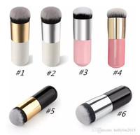 Large Round pinceaux de maquillage pour la tête Fondation BB crème en poudre cosmétique maquillage brosse à tête plate douce Outils de maquillage cheveux