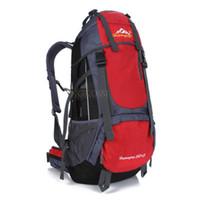 Alta qualità 55L carico extra professionale zaino esterno escursionismo campeggio zaino Daypack borsa da viaggio indietro Pac