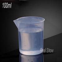 10 قطع الشحن مجانا البلاستيك قياس كأس / pp 100cc كوب من البلاستيك قياس إبريق / أدوات الطبخ 100 ملليلتر كوب القياس