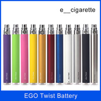 Ego Twist Battery Adjustable Voltage E- cigarette Electronic ...