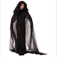 Neue Ankunft Black Ghost Kostüme Durch DHL Cosplay Halloween Plus Größe Robe Club Party Leistung Kleidung Heißer Verkauf