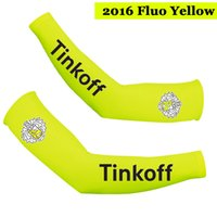 2016 TINKOFF PRO TEAM FLUO GIALLO T22 BICICLETTA BRACCIO BICICLETTA BICICLETTA TAGLIA: S-XXL