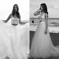 Vestidos De Noiva 2016 Summer Beach Wedding Dresses A Line T...
