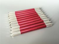 10 قطع 2 رئيس يمكن استخدامها التجميل microblade الوشم القلم دليل ماكياج الدائم القلم الحاجب الشفاه إبرة تلميح حامل أداة التموين