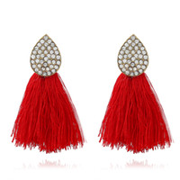 New Fashion Bohemian Statement Tassel Earrings Dangle Drop E...