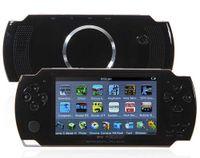 Lecteur écran LCD 16 Go de 4,3 pouces MP3 MP4 MP5 PMP + jeu + Caméra + TV OUT + console de jeu dans la boîte cadeau E-book FM Photo Video Game Player R-826