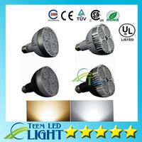 L'UL de la CE de DHL a mené par30 lumières le CREE E27 24W 35W 36W a mené des ampoules allumant la lampe 3600lm à CA 110-240V a mené le projecteur de downlight